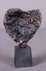 Carsten Hansen. Skulptur udført i bronze