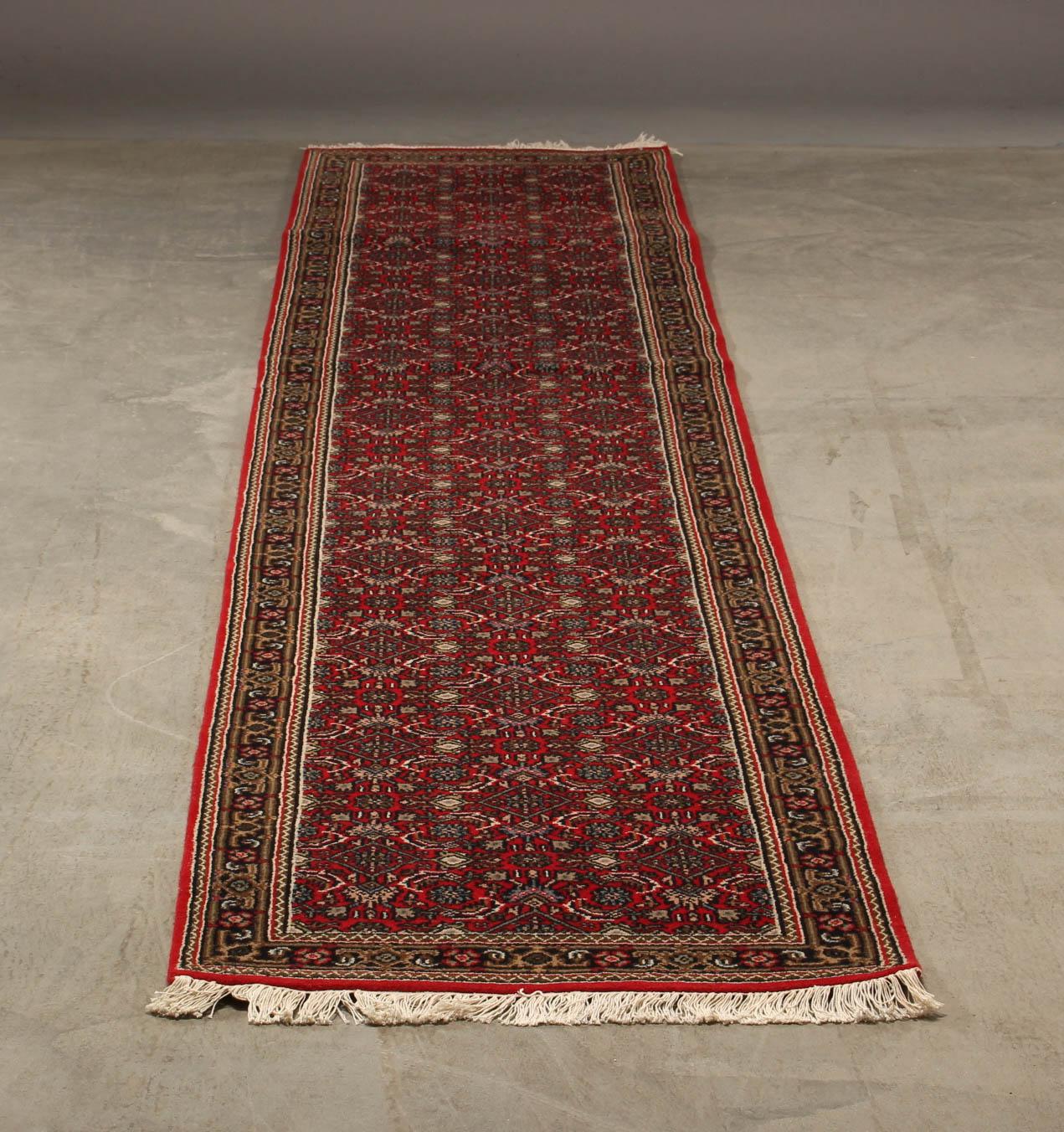 Indo Herati tæppe 81 x 412 cm - Indo Herati tæppe i målene 81 x 412 cm