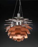 Poul Henningsen. PH Artichoke pendant, copper,  Ø 60 cm.