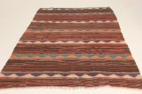 Matta, flatvävd, Harsin-kelim, 223x183 cm