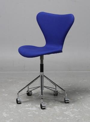 vara 3368662 arne jacobsen fritz hansen kontorsstol. Black Bedroom Furniture Sets. Home Design Ideas