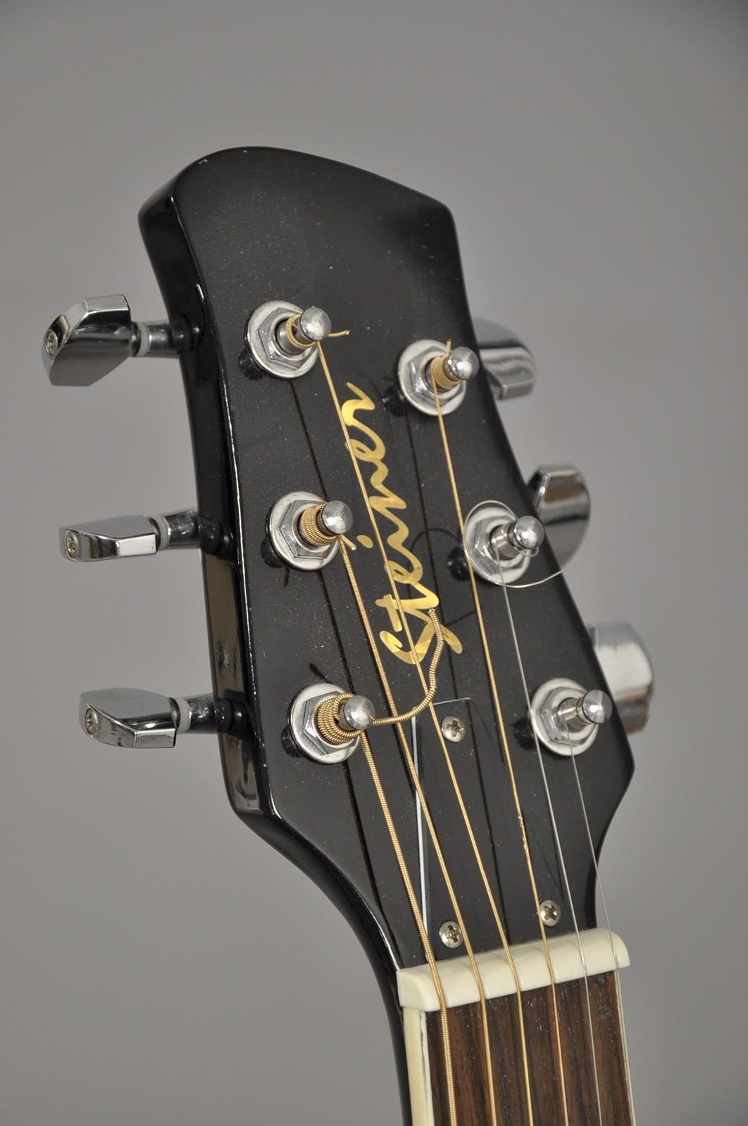 Steiner halvakustisk guitar, Vision junior el-guitar ...