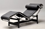 Le Corbusier for Cassina. Chaise longue, model LC4, with accompanying certificate