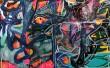 Lars Fantasiformidler Elgidh. Abstrakt dobbeltkomposition, diptykon