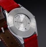 Mauboussin 'Ultra Thin' unisex watch, steel, silver-coloured dial