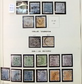 Stamp collection, Sweden, stamped 1855-1955