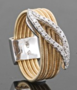 14kt. diamond ring approx. 0.17ct