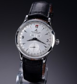 Jaeger-LeCoultre 'Master Control'. Men's watch, steel, with silver-coloured dial, c. 2004
