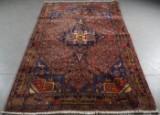 Orientalisk handknuten matta, Koliai, 246 x 158 cm.