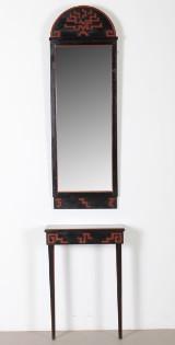 Spegel samt konsolbord, Danmark, 1920-tal