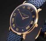 Vintage Vacheron & Constantin men's watch, 18 kt. gold, blue dial, 1960's