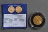 USA. 5 dollars guldmønt 1912