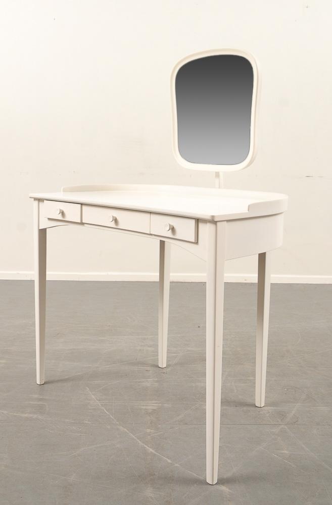 Carl Malmsten, sminkbord och stol modell 'Ulrika' (2