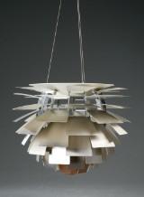 Poul Henningsen. Pendant lamp, PH Artichoke, brushed steel, Ø 48 cm