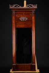 Biedermeier spejl, mahogni