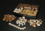 En samling mønter