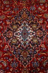 Persisk Kashmar. Stort håndknyttet tæppe, 410 x 290 cm.