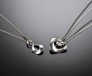 4fa1b13163c Regitze Heart samt Infinity, halskæde af sølv, Georg Jensen 2 Denne vare er  sat