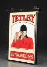 Reklameskilt. 'Tetley'