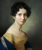 Christian Horneman. Porträt von Angelique Jacobine Vilhelmine Marie Petzholdt, Pastell 1823