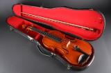Håndbygget violin 4/4 med bue