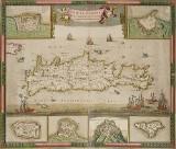 Karta Kreta ca 1690