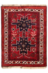 Persisk Bakhtiari tæppe, 228 x 172 cm.