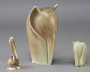 palshus keramik Palshus elefanter og pelikan af keramik (3) | Lauritz.com palshus keramik