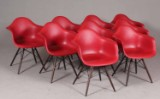 Charles and Ray Eames. Armchairs, model DAR (9)