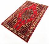 Handknuten persisk gallerimatta, Saveh, Mazlaghan 200 x 125 cm