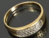 Engelsk ring, 18 kt guld