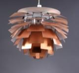 Poul Henningsen. Pendant lamp, 'Artichoke', copper, Ø 72 cm.