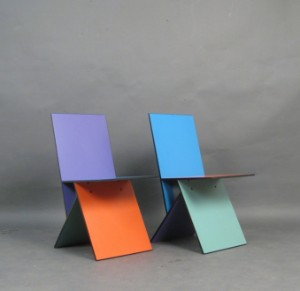 For Pair Of By Chairs Panton Vilbert Ikea2 Model Verner vbf6Ygy7