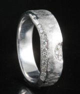 18kt handmade diamond ring approx. 0.14ct