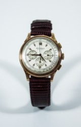 Watch, Movado Chronograph Fab Suisse, 18K, late 1940s