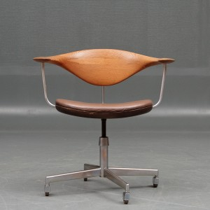 Lot 3030940 Hans J Wegner Office Chair Model JH 502 Swivel Chair