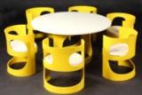 Arne Jacobsen. Spisebord samt stole, model Prepop (7)