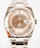 Rolex. Datejust with Oyster bracelet