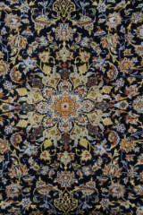 Persisk Kashan m/ silke, 415 x 310 cm