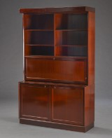 Dansk møbelproducent. Reol, mahogni (3)