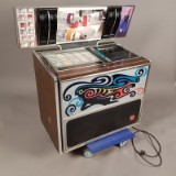 A music box / jukebox, Rock-Ola 469, 50 songs, designed in 1977