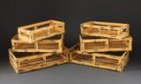 Trådkurve i gulmalet metal (6)