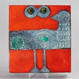 Lisa Larson keramikrelief