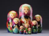 Russisk babushka-dukker (10)