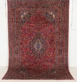Handknuten äkta matta, Mashad, 290x190 cm