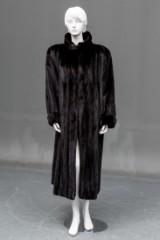 Mink coat, size 40/42, female skin