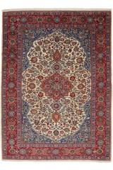 Najafabad. Orientalsk håndknyttet tæppe, 338x245 cm.