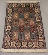 Silketæppe, 115 x 75 cm
