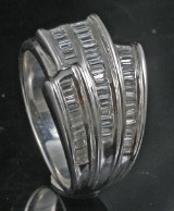 18kt diamond ring approx. 0.76ct