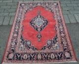 Persisk handknuten matta, 198x134 cm
